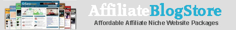 AffiliateBlogStore.net - Premium Turnkey Website Packages